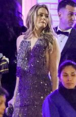 Alicia Silverstone In Sexy Beaded Dress At Vanity Fair Party