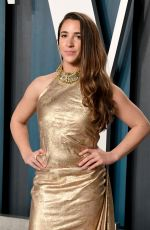 Aly Raisman At Vanity Fair Oscar Party in Beverly Hills