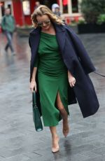 Amanda Holden Leaving Heart Radio in London