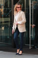 Amanda Holden Leaving her Manchester Hotel for the BGT auditions in Manchester