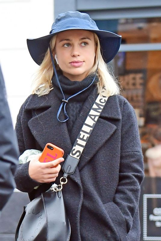Amelia Windsor Out in London