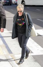 Amy Poehler At LAX International Airport