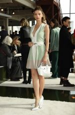 Angela Sarafyan At Longchamp show, Fall Winter 2020, New York Fashion Week