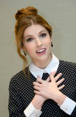 "Anna Kendrick At ""Trolls World Tour"" Press Conference in Glendale"