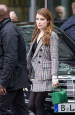 Anna Kendrick Out in Berlin
