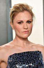 Anna Paquin At 2020 Vanity Fair Oscar Party in Beverly Hills