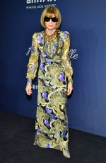 Anna Wintour At 22nd annual amfAR Gala Benefit for AIDS Research at Cipriani Wall Street in New York City