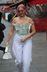Anne-Marie Out and about, London