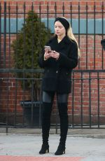 Anya Taylor Joy is spotted out and about in New York City
