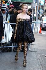 Anya Taylor-Joy Out Promoting Emma in NY