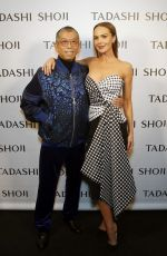 Arielle Kebbel At Tadashi Shoji show at New York Fashion Week