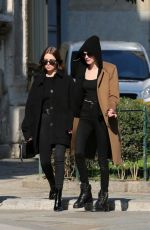 Ashley Benson and Cara Delevingne Out in Milan, Italy