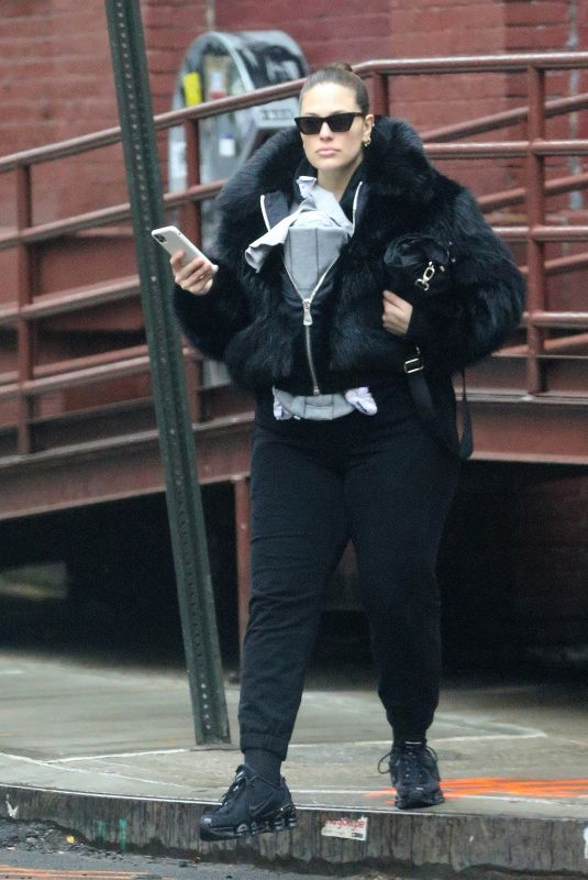 Ashley Graham Out in NYC