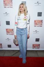 Ashley Roberts At Press Night of Message in a Bottle at Peacock Theatre, Central London