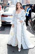 Bailee Madison At NYFW: The Shows in NYC