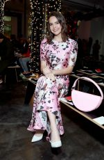 Bailee Madison At Veronica Beard Fashion Show in New York
