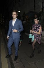 Bel Powley At BAFTA Vogue x Tiffany Fashion and Film afterparty, Annabel