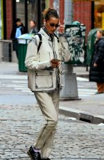 Bella Hadid As she steps out to run errands in New York