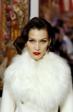 Bella Hadid On the runway for during the Lanvin Fall/Winter show in Paris