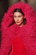 Bella Hadid Walks the Oscar De La Renta Fall/Winter 2020 show in New York