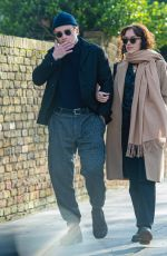 Ben Hardy Steps out hand in hand with co-star actress Olivia Cooke in London