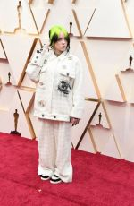 Billie Eilish At 92nd annual Academy Awards at the Dolby Theater in Los Angeles