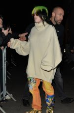 Billie Eilish At BBC Studios in London