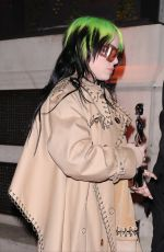 Billie Eilish Attending the BRIT Awards after-party at the Ned Hotel in London