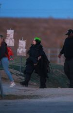 Billie Eilish Heads to the desert in Palmdale for a photoshoot