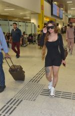 Blac Chyna As she touches down in Brazil to enjoy the carnival in Sao Paulo