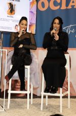 Brie and Nikki Bella At the Boss Babes & CEOs panel in Las Vegas
