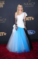 Brie Larson At the 51st NAACP Image Awards Presented by BET, at Pasadena Civic Auditorium