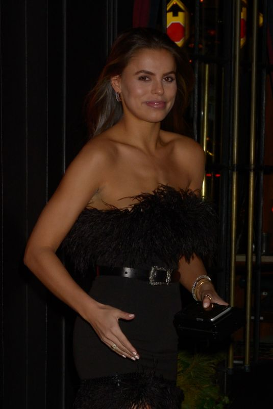 Brooks Nader Celebrated her birthday at Dirty French in New York