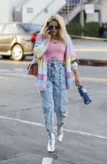 Busy Philipps Rocks a colorful retro look while out running errands in West Hollywood