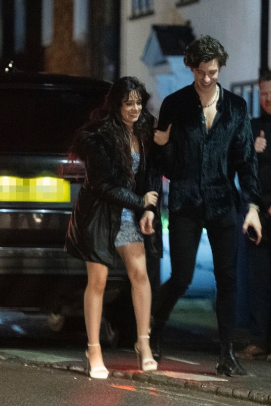 Camila Cabello Out for dinner in London
