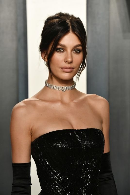 Camila Morrone At 2020 Vanity Fair Oscar Party in Beverly Hills