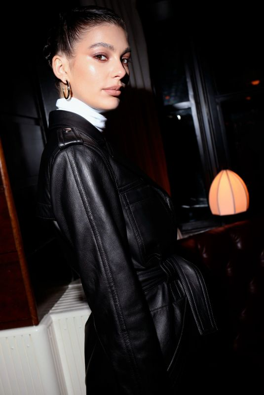 Camila Morrone At Coach show, Afterparty, Fall Winter 2020, New York Fashion Week