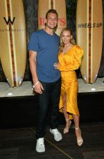 "Camille Kostek At Wheels Up Hosts Exclusive Dinners at ""Rao"
