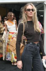 Candice Swanepoel Outside the Zimmermann Fashion Show in NYC