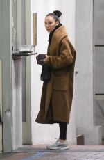 Cara Santana Looks glum after visiting a medical building in Los Angeles