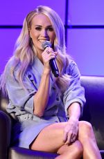 Carrie Underwood Onstage for the Artist Interview during the Country Radio Seminar 2020
