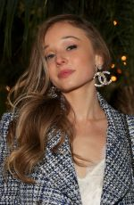 Carson Meyer At Charles Finch and Chanel Pre-Oscars Dinner, Arrivals, Polo Lounge, Los Angeles