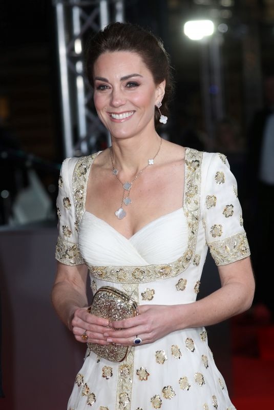 Catherine, Duchess of Cambridge At EE British Academy Film Awards 2020 in London