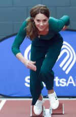 catherine duchess of cambridge attends a sportsaid event at the london stadium in stratford, london 26.02.2020 x27 | hqcelebcorner