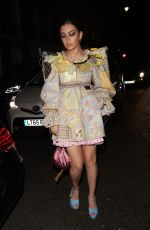 Charli XCX Arriving at the Love Magazine Party in London