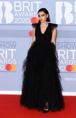 Charli XCX At The BRIT Awards 2020 in London