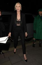 Charlize Theron Arriving at the Vogue x Tiffany Fashion & Film after party