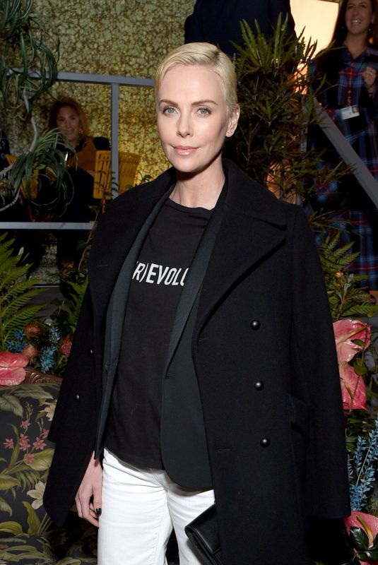Charlize Theron At BIRKENSTOCK 1774 Collection with MATCHESFASHION Launch Party