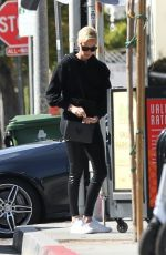 Charlize Theron Out for lunch at Sugarfish in LA