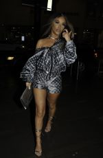 Chelsee Healey Arrives at the Nuage Brunch Party at San Carlo Fumo restaurant in Manchester